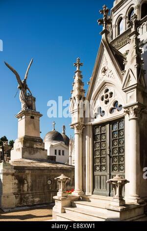 Cementerio de la Recoleta, Recoleta, Buenos Aires, Argentina, South America - Stock Photo