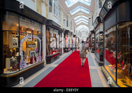 Burlington Arcade, London, England, United Kingdom, Europe - Stock Photo