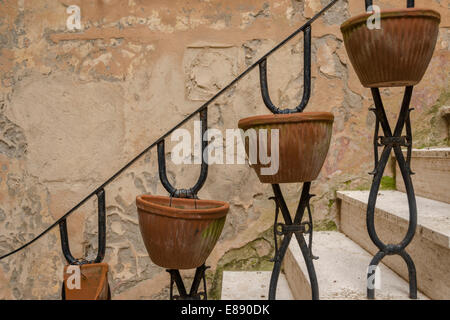 Houses and details of internal streets of Capalbio, Tuscany,Italy - Stock Photo