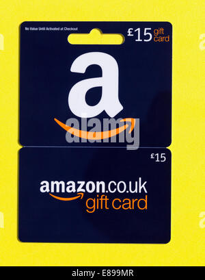 Amazon gift card - Stock Photo