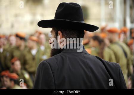 A Jew. Jerusalem. Israel. - Stock Photo