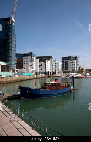 ocean village marina southampton hampshire england - Stock Photo