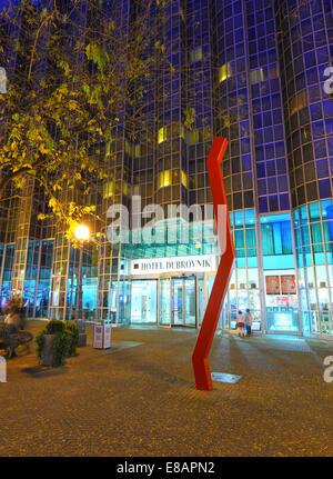 Zagreb hotel Dubrovnik - Stock Photo