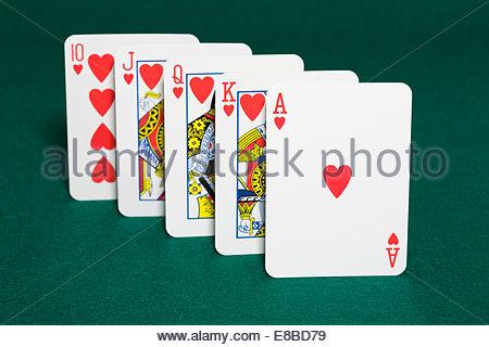 Poker flush in spanish