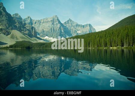 Morraine Lake, Alberta, Canada - Stock Photo
