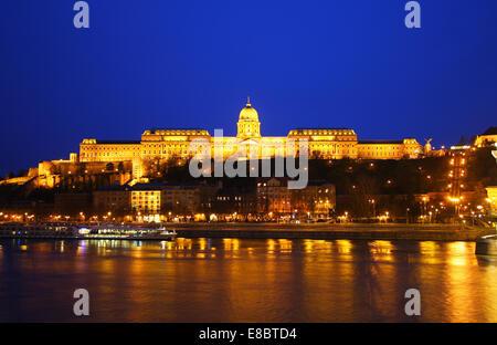 Buda Castle in Budapest, Hungary - Stock Photo