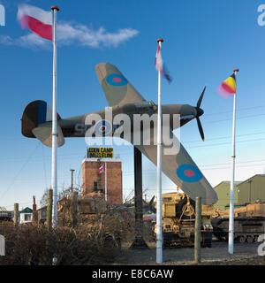 Eden Camp War Museum, Malton, North Yorkshire, England. - Stock Photo