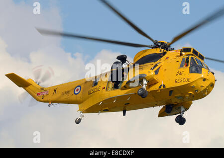 Westland Sea King mark HAR3, was specially developed for the Royal Air Force RAF Search and Rescue Force. The type - Stock Photo