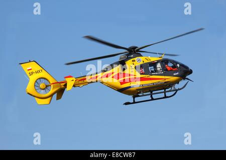 Medical helicopter - Stock Photo