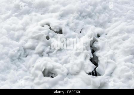Draining foam - Stock Photo