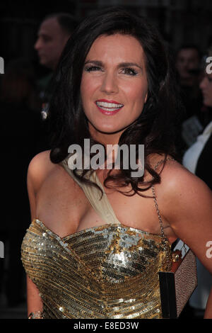 London, UK, 6th October 2014: Susanna Reid attends the Pride of Britain awards at The Grosvenor House Hotel in London - Stock Photo