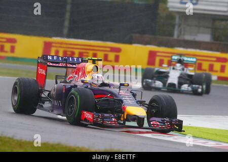Daniel RICCIARDO, AUS, RedBull Racing, Team Infiniti Red Bull Racing, Red Bull RB10, Renault Energy F1 SUZUKA, JAPAN, - Stock Photo