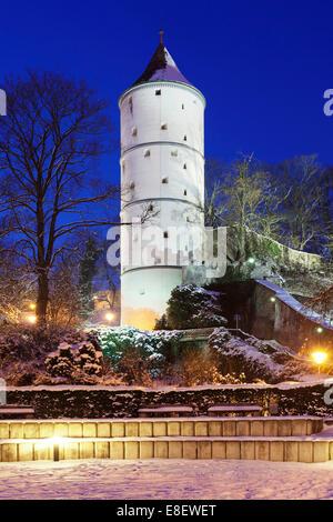 Gigelturm tower, Biberach an der Riss, Upper Swabia, Baden-Württemberg, Germany