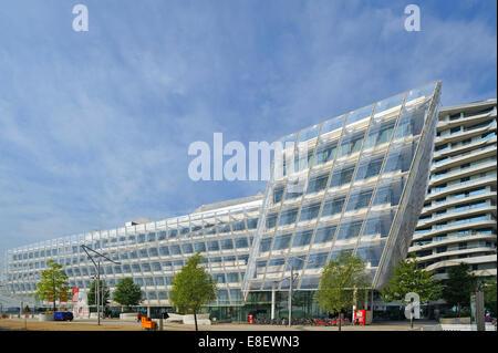 Unilever-Haus building in Hamburg, Germany - Stock Photo