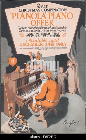 Aeolian Company Pianolas, 1920s. Artist: Wilfred Fryer - Stock Photo