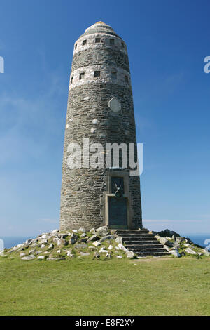 American monument, Mull of Oa, Islay, Scotland. - Stock Photo