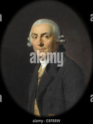 Portrait of Jean-François Marmontel (1723-1799). Artist: Boilly, Louis-Léopold (1761-1845) - Stock Photo