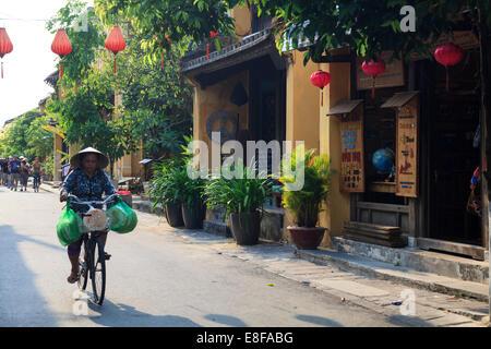 Vietnam, Quang Nam, Hoi An old town (UNESCO Site) - Stock Photo