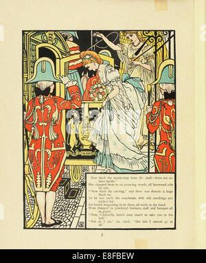 Illustration for Fairy Tale Cinderella. Artist: Crane, Walter (1845-1915) - Stock Photo
