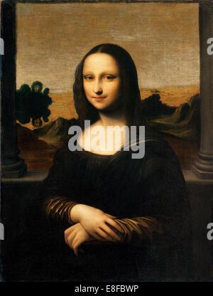 The Isleworth Mona Lisa. Artist: Leonardo da Vinci (1452-1519) - Stock Photo