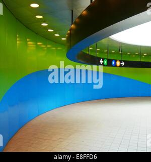 USA, New York State, New York City, Subway - Stock Photo