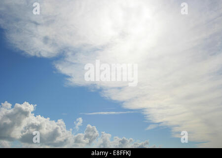View of clouds - Stock Photo