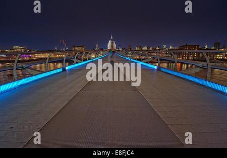 Millennium Bridge - Stock Photo