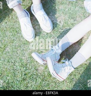 Close Up Of Feet - Stock Photo