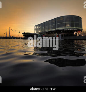 Emirates Air Line, London, England, UK - Stock Photo