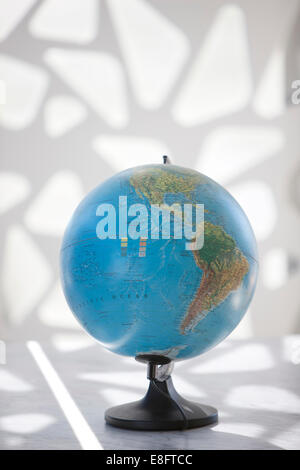 Globe showing North and South America - Stock Photo