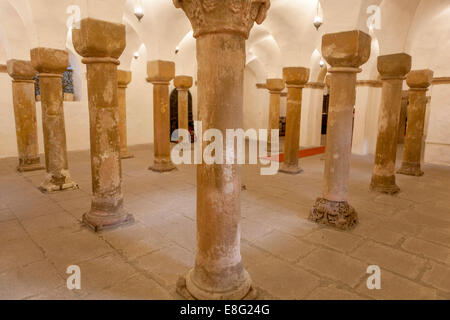 Church of St. Cosmas and Damian in Stara Boleslav, Czech Republic - Stock Photo