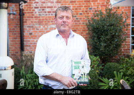 Gary Witheford is author and a horse whisperer - Stock Photo