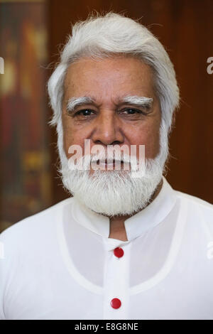 JOSEPH COUTTS, Archbishop of the roman catholic Diocese of Karachi, Pakistan - Stock Photo