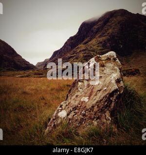 Ireland, Munster, County Kerry, Killarney, Gap of Dunloe - Stock Photo