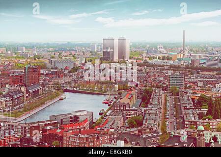 Holland, View of Rotterdam - Stock Photo