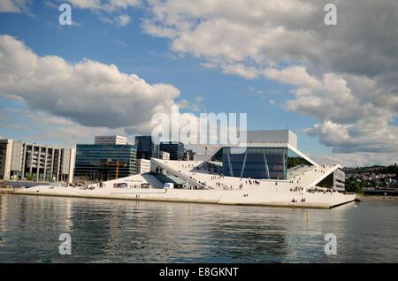 Oslo, Norway Oslo Opera House - Stock Photo