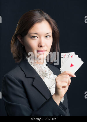 Professional Gambler  / Poker Player - Stock Photo