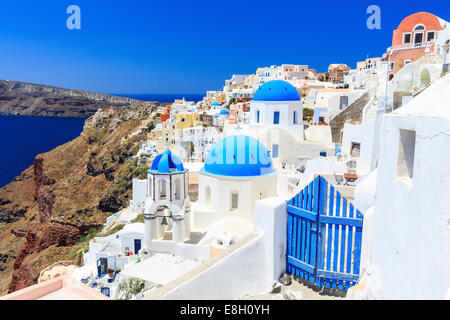 Santorini, Greece - Stock Photo