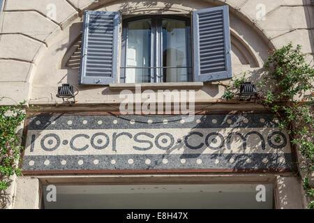 The 10 Corso Como store in Milan, Italy - Stock Photo