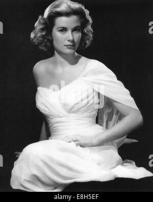 GRACE KELLY (1929-1982) US film actress about 1950 - Stock Photo