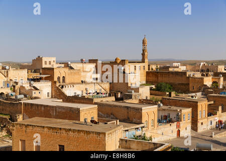 Turkey, Anatolia, South East Anatolia, Mardin Province, Old town of Midyat - Stock Photo