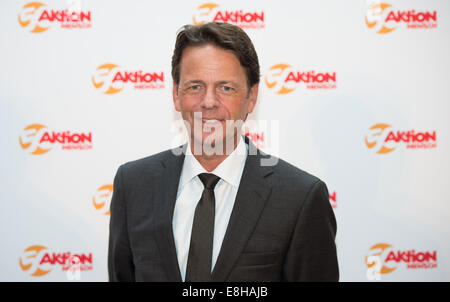 Berlin, Germany. 7th Oct, 2014. TV presenter Rudi Cerne attends the event of the 50th anniversary of 'Aktion Mensch' - Stock Photo