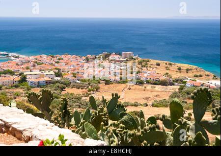 Pythagorio on Samos - Stock Photo