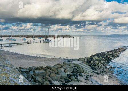 View of Rhos-on-Sea,  Conwy, North Wales , UK - Stock Photo