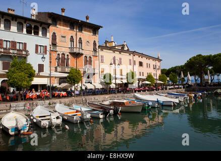 Desenzano del Garda is a town and comune in the province of Brescia, in Lombardy, Italy, on the southwestern shore - Stock Photo