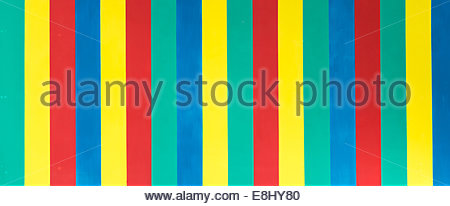 Pattern in a board with the bright multiple colors - Stock Photo