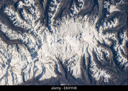 Editor's note: Some very beautiful images of Chile from the International Space Station this summer. Happy Monday, - Stock Photo