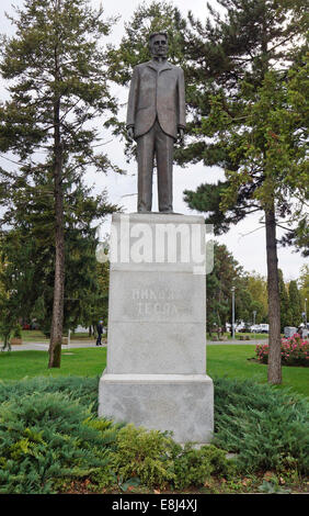 Nikola Tesla Physicist Engineer And Inventor Of Alternating
