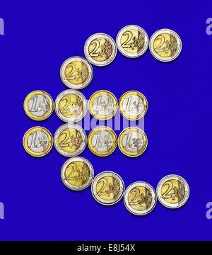 Euro Coins Money - Stock Photo