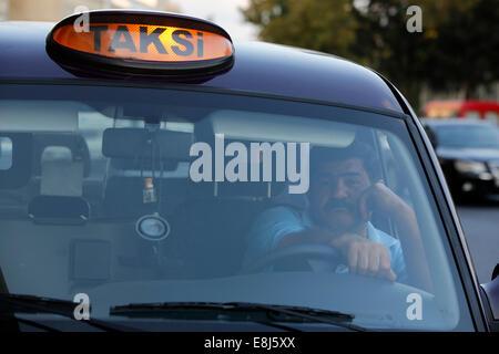 Baku taxi - Stock Photo